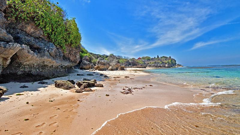 3 Beautiful beaches in Nusa Dua (Pandawa, Gunung Payung and Padang Padang)