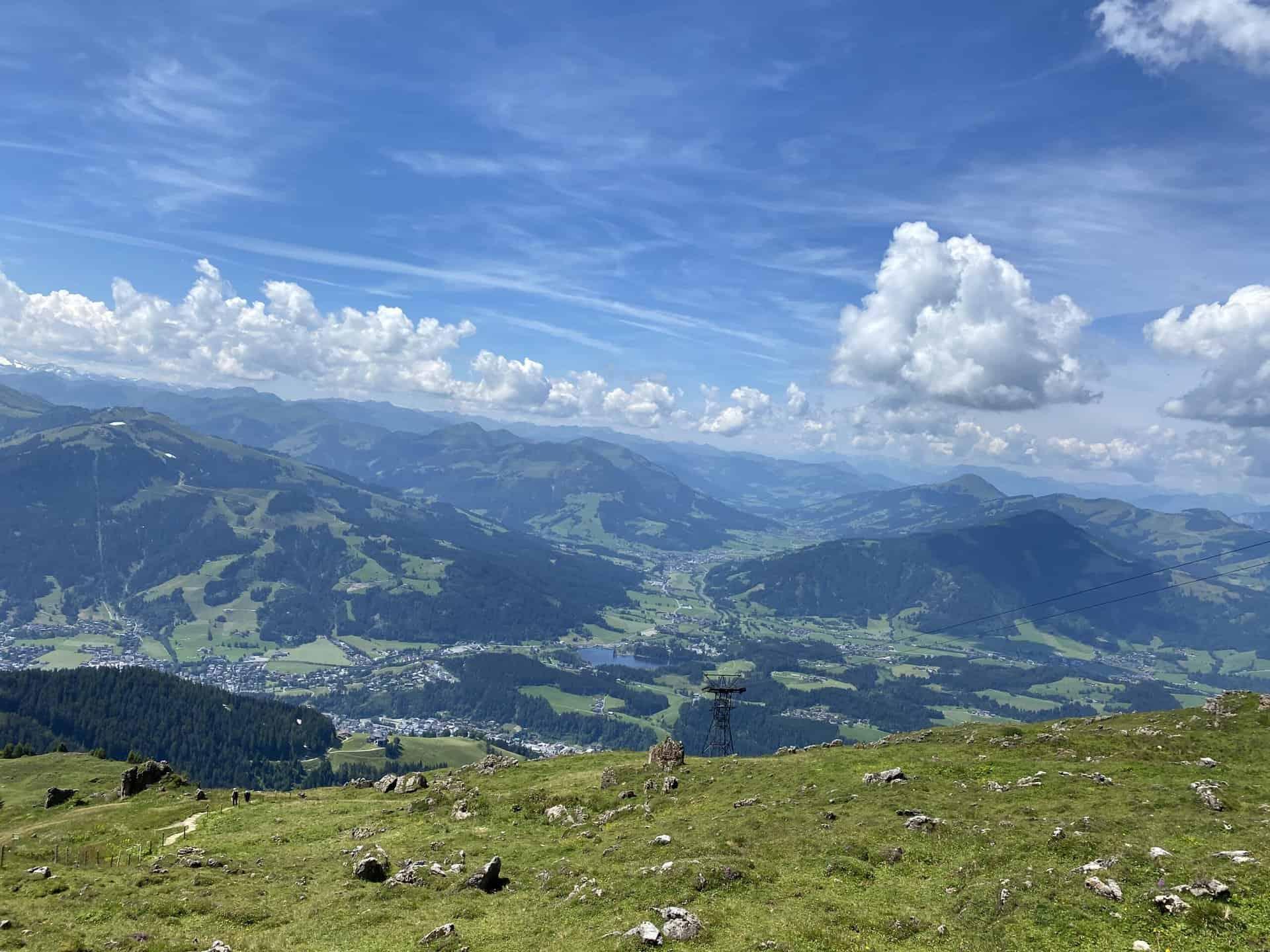 Hiking from Kitzbühler Horn