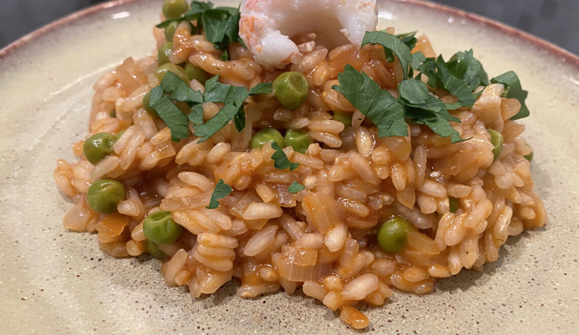Risotto with Langoustines