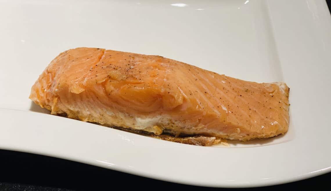 Salmon sous-vide