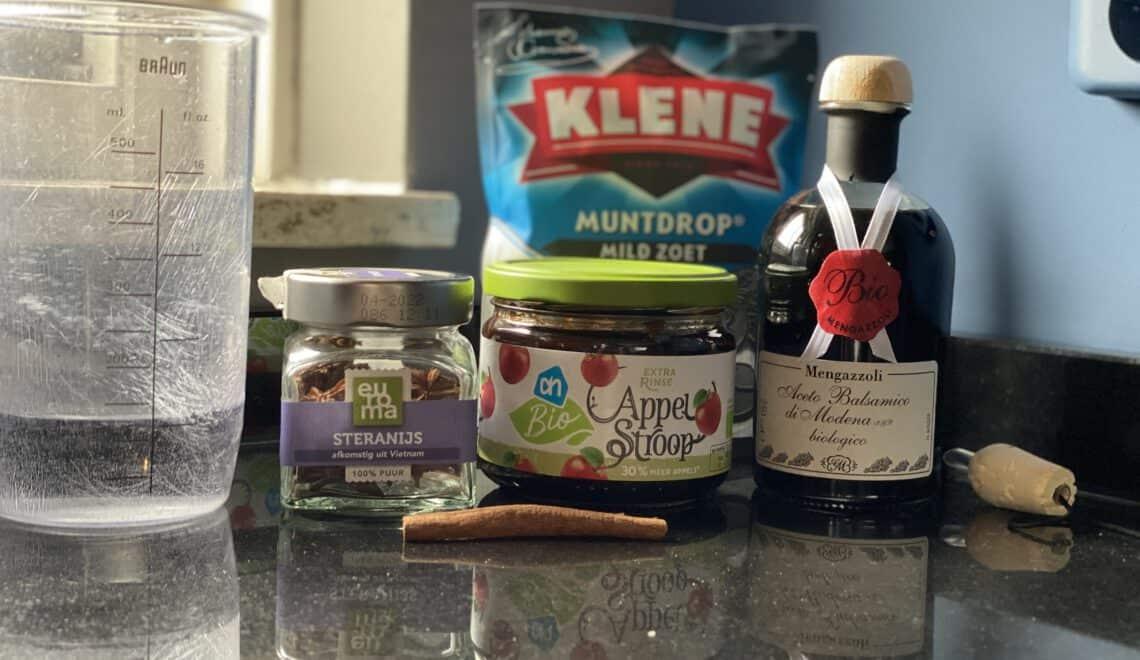 Licorice sauce